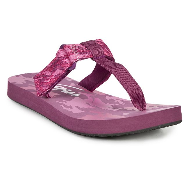 Jettie Kids' Thong Sandals in Pink