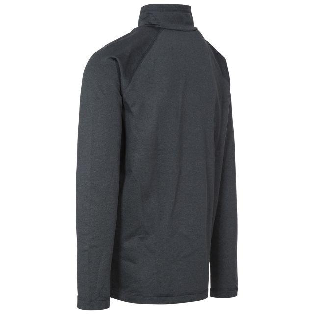 Jozef Men's DLX Quick Dry Active Top in Black