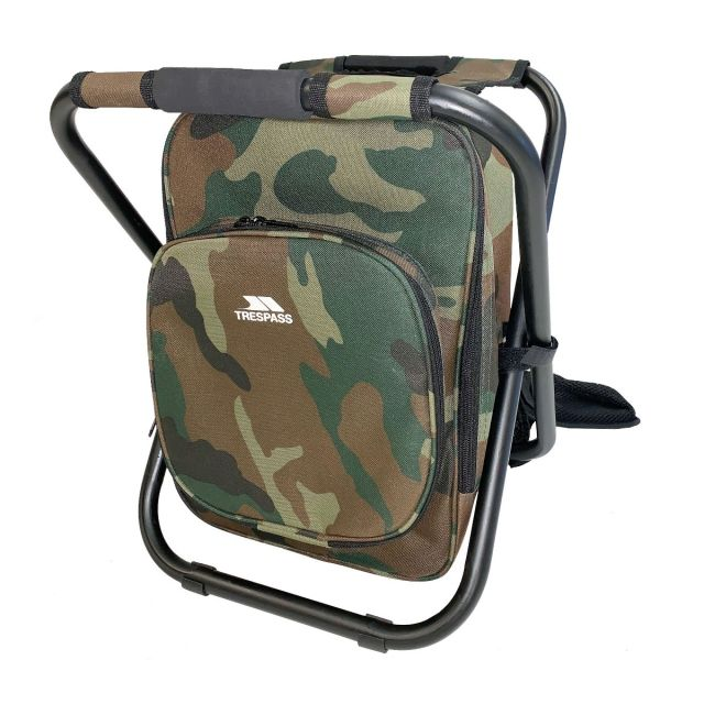 Jubilee Backpack Chair for Hiking & Fishing in Khaki