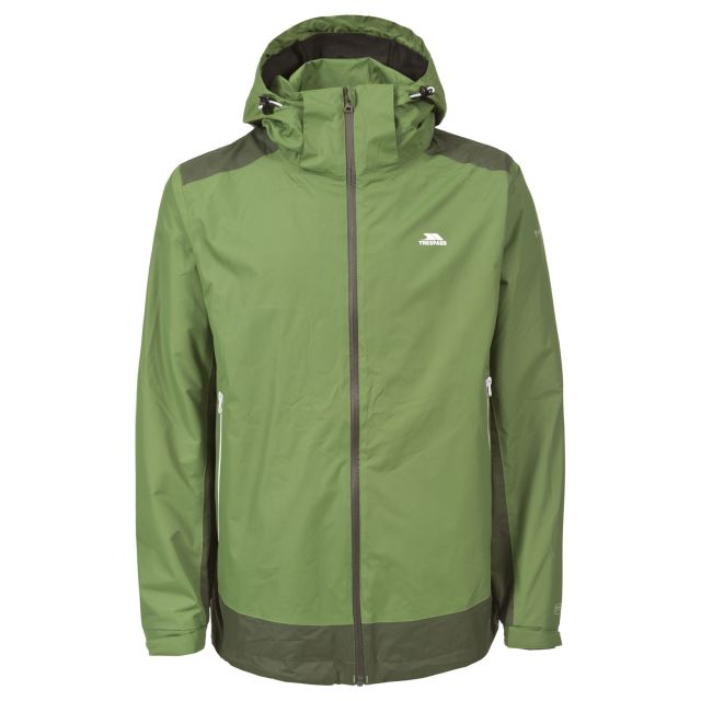 Judah Men's Waterproof Jacket in Green
