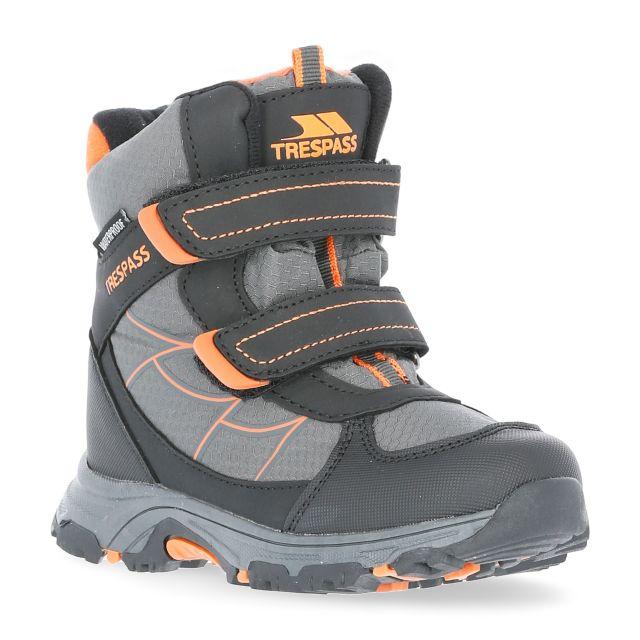 Julien Kids' Waterproof Walking Boots in Grey