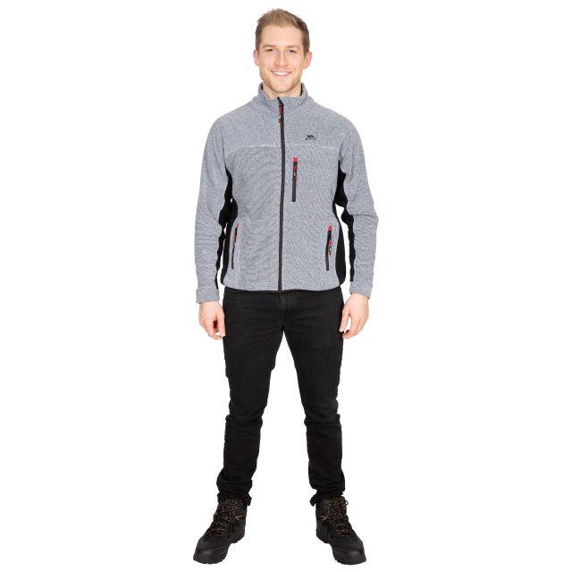 Jynx Men's Fleece Jacket in Light Grey