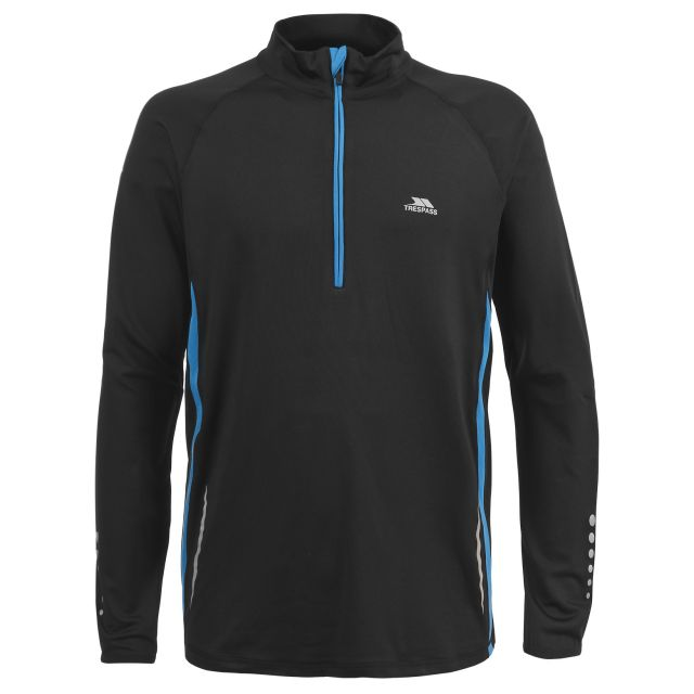 Keenan Men's Quick Dry Active Top in Black