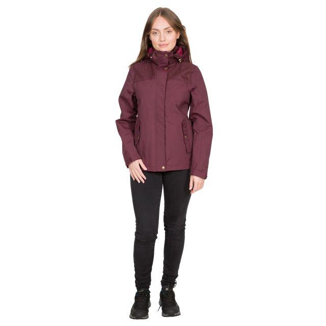 DLX Womens Waterpoof Jacket Kelby in Purple