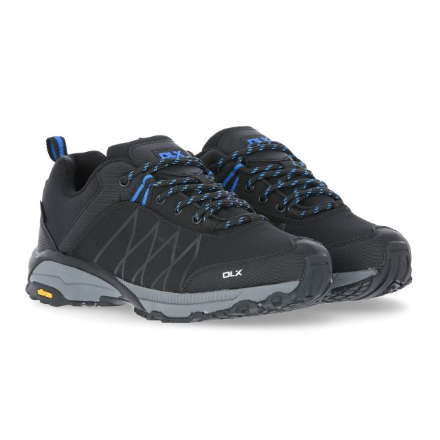 Keyboard II Men's DLX Walking Shoes in Black