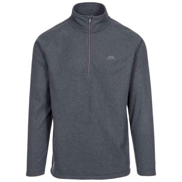Keynote Men's 1/2 Zip Fleece in Grey