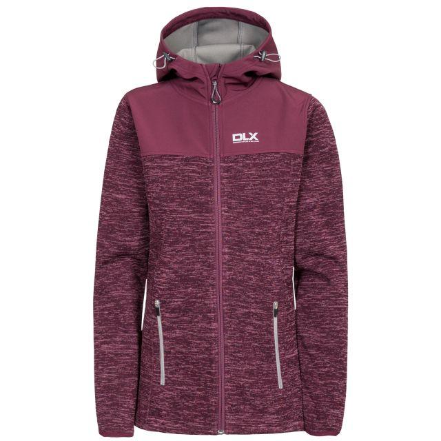 Kirsti Women's DLX Breathable Softshell Jacket in Purple
