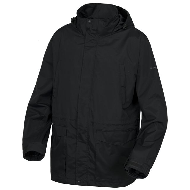 Kittridge Men's Waterproof Jacket in Black