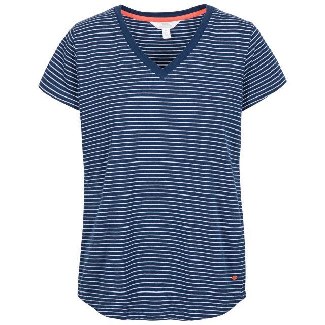 Konnie Women's V-Neck T-Shirt in Navy