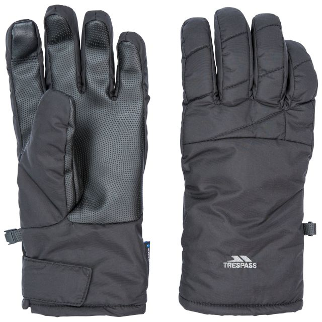 Kulfon Unisex Waterproof Gloves in Black