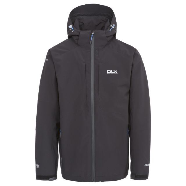 Kumar Men's DLX High Performance Waterproof Jacket in Black