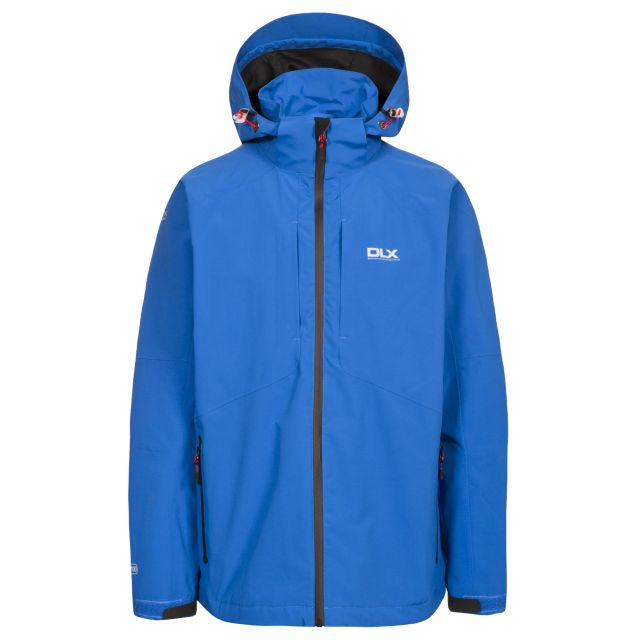 Kumar Men's DLX High Performance Waterproof Jacket in Blue