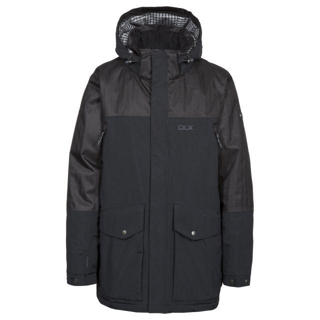 Larken Mens DLX Waterproof Jacket in Black