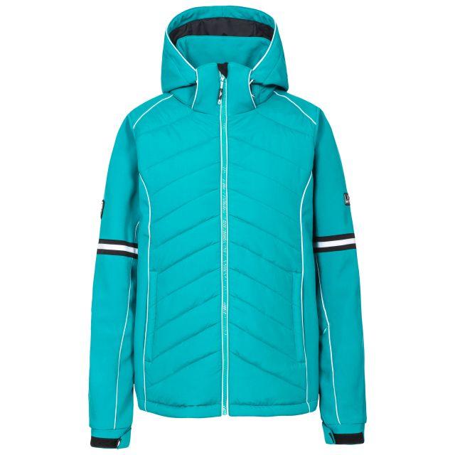 Larne Women's Windproof Ski Jacket in Green