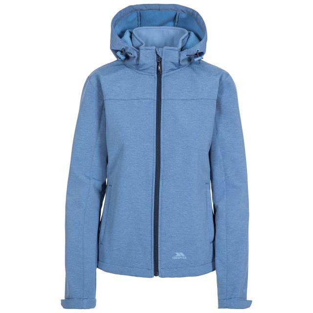 Leah Women's Softshell Jacket in Light Blue