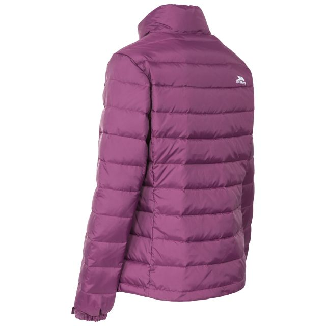 Letty Women's Down Jacket in Burgundy