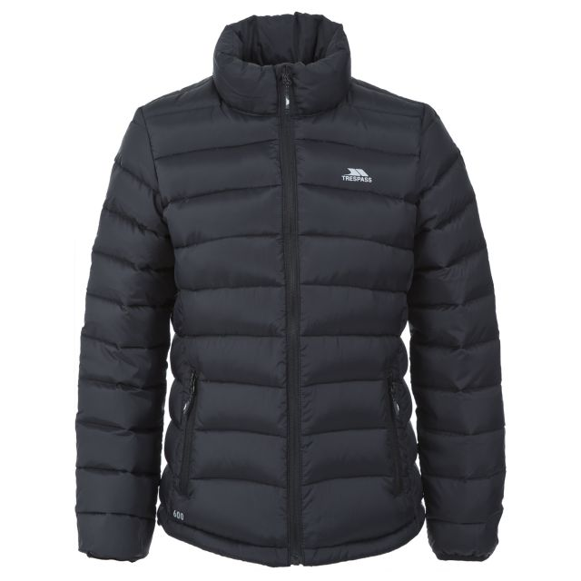 Letty Women's Down Jacket in Black