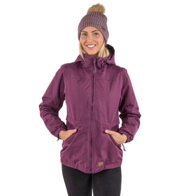 Liberate Women's Windproof Waterproof Jacket in Purple