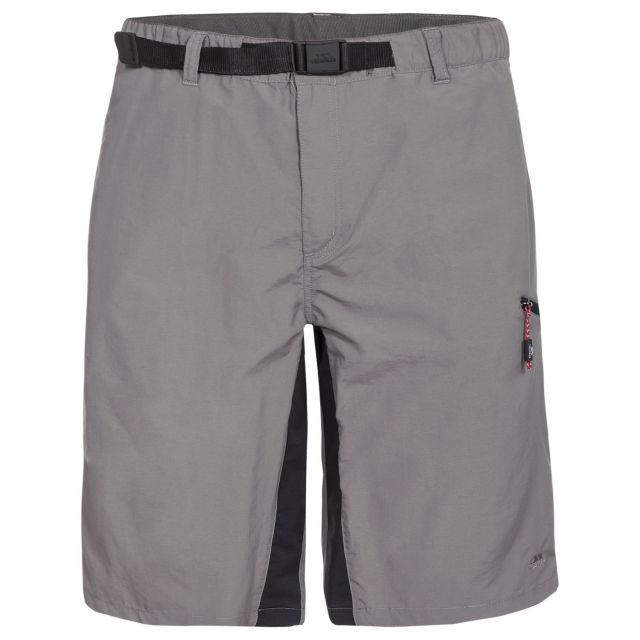 Lipeck Men's Cargo Shorts in Grey