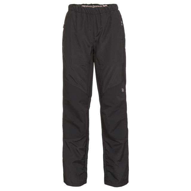 Loopina Women's Quick Dry Walking Trousers in Black