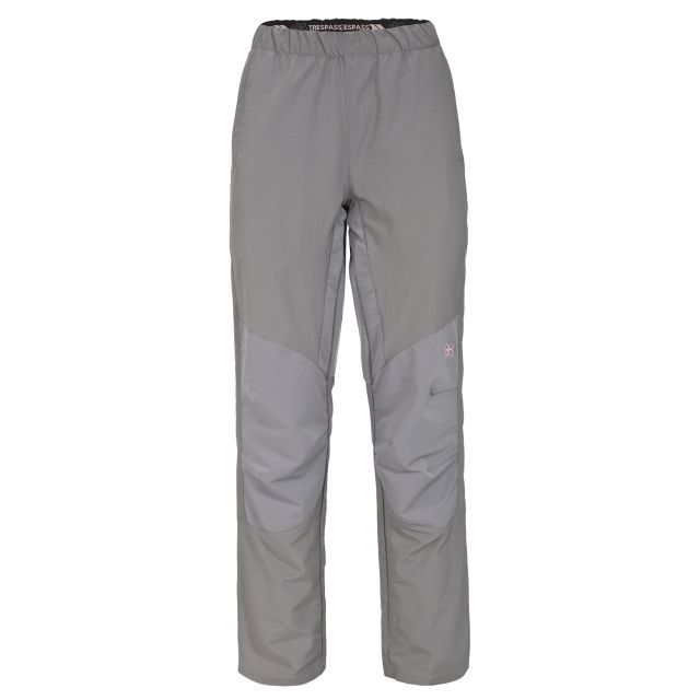 Loopina Women's Quick Dry Walking Trousers in Grey