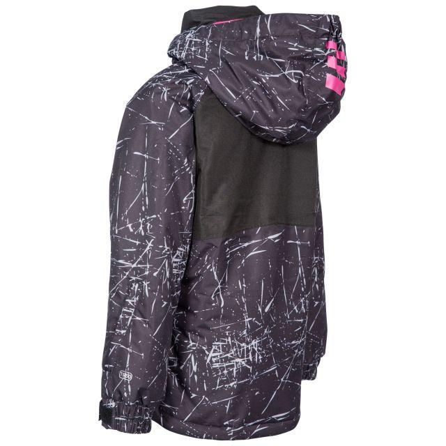 Trespass Kids Ski Jacket in Black Lottar