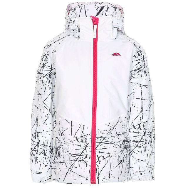 Lottar Kids' Ski Jacket in White