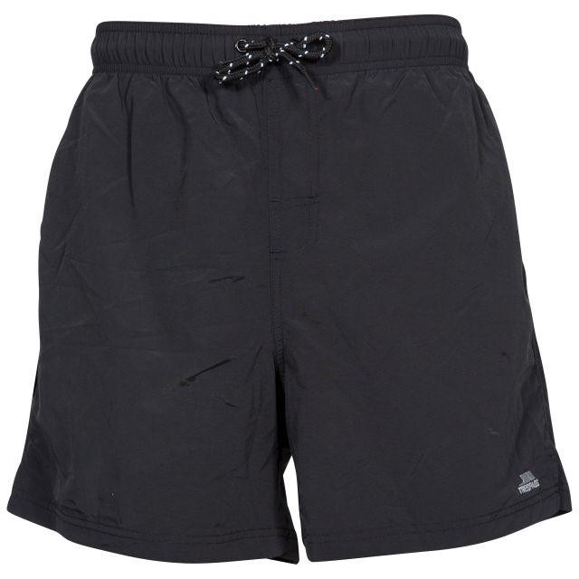 Luena Men's Casual Swim Shorts in Black