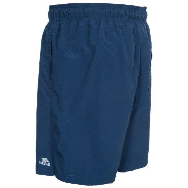 Luena Men's Casual Swim Shorts in Navy