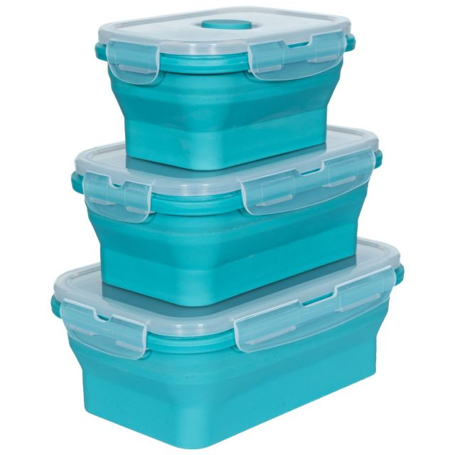 Collapsable Lunch Set in Light Blue