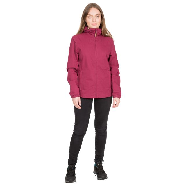 DLX Womens Waterproof Jacket Lynden in Red