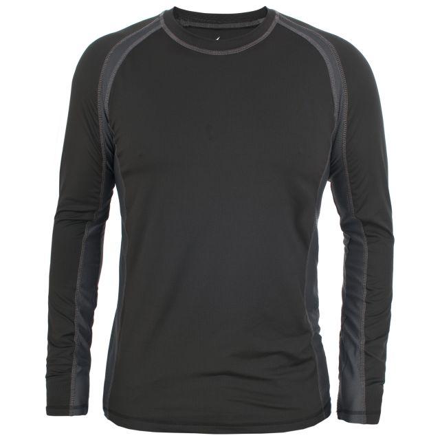 Explore Men's Thermal Top in Black