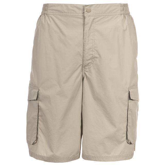 Sidewalk Mens Cargo Shorts in Beige