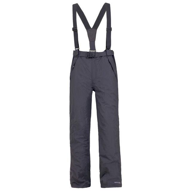 Glasto Men's Black Ski Pants in Grey