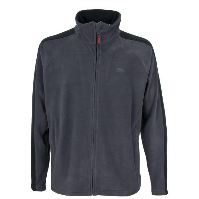 Acres Men's Fleece Jacket in Grey