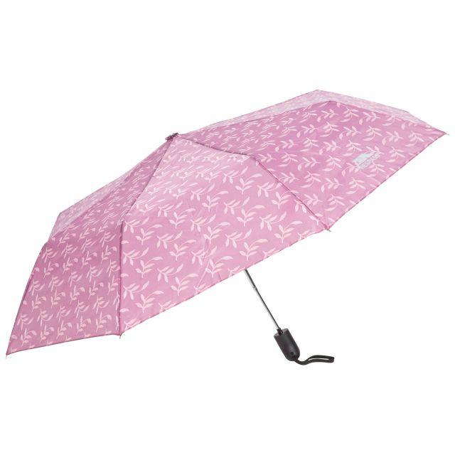 Printed Compact Umbrella in Light Purple