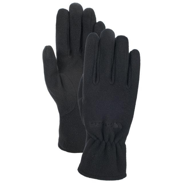 Gaunt Adults' Fleece Gloves in Black