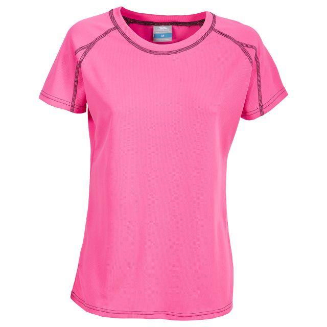Mamo Women's Quick Dry T-Shirt in Pink