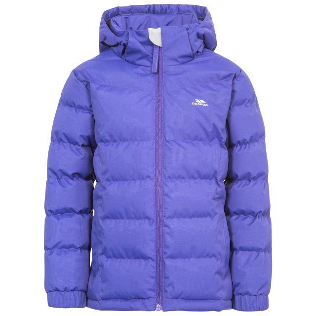 Marey Girls' Water Resistant Padded Jacket in Purple