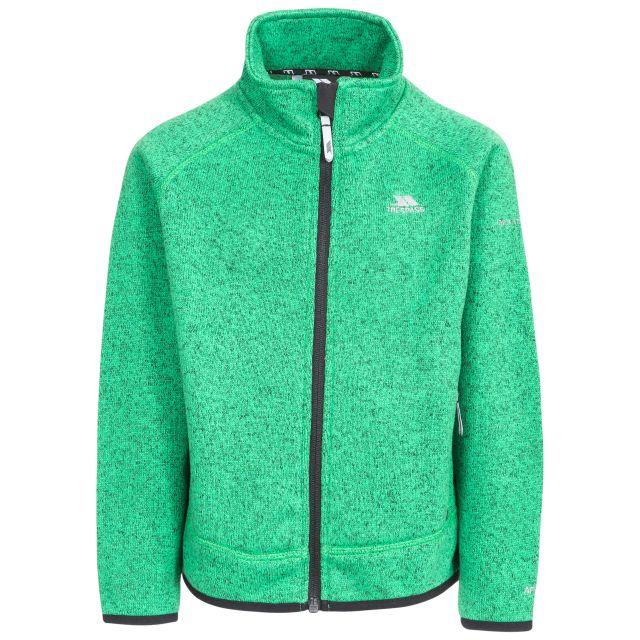 Mario Kids' Full Zip Fleece Jacket in Green