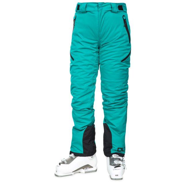 Marisol Women's DLX Waterproof Ski Trousers in Green