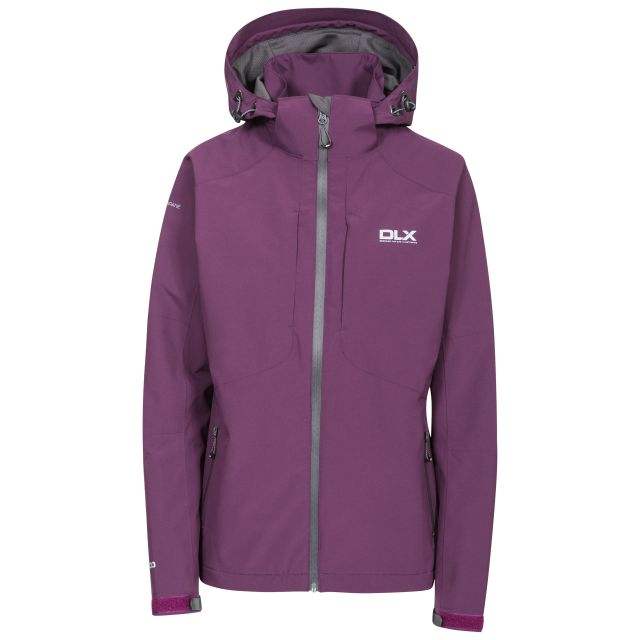 Martina Women's DLX Waterproof Jacket in Burgundy