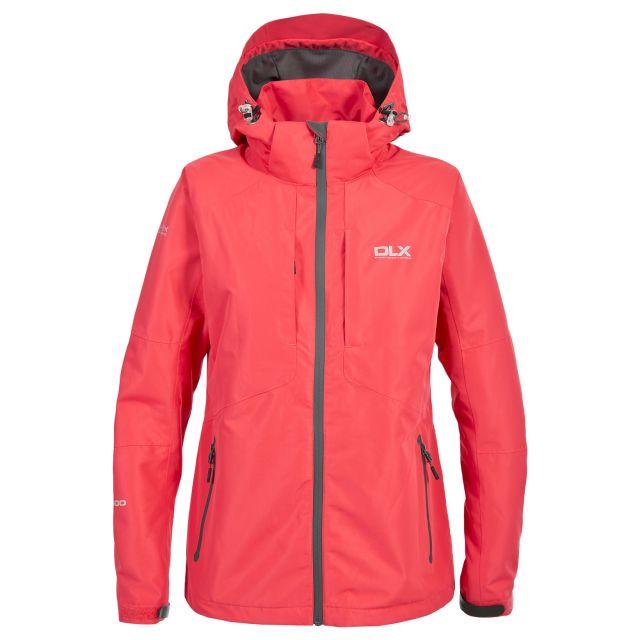 Martina Women's DLX Waterproof Jacket in Light Pink