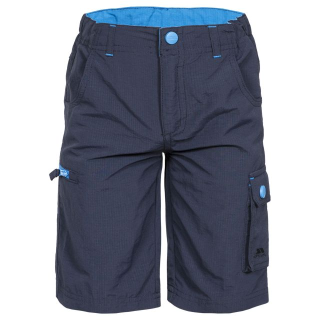 Marty Kids' Cargo Shorts in Navy