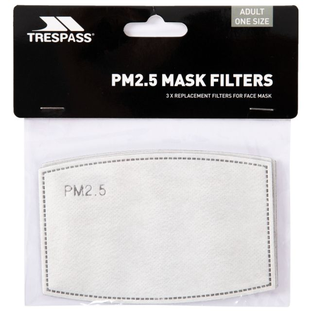 Replacement Filters for Cloth Face Mask - Pack of 3