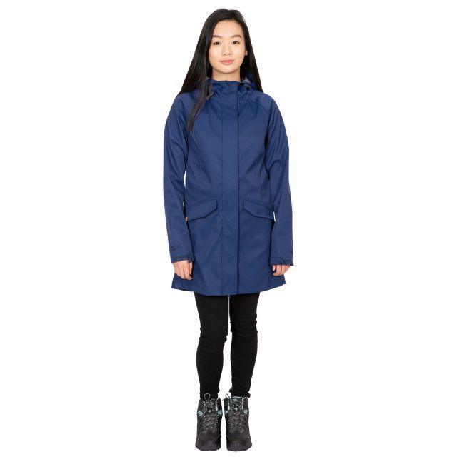 Trespass Womens Softshell Jacket Water Resistant Matilda in Navy