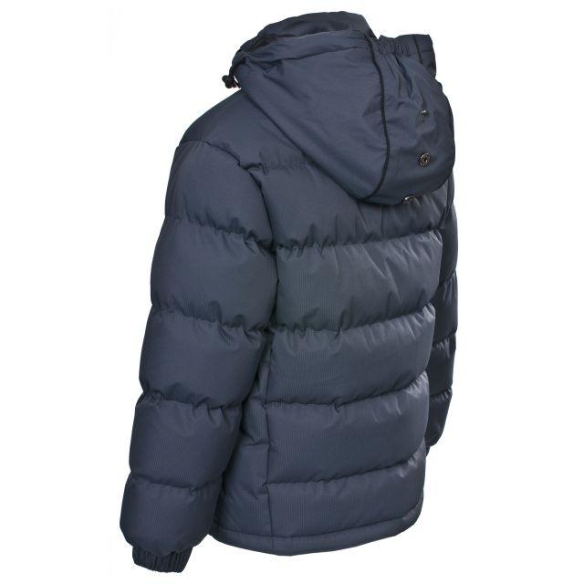 Trespass Boys Padded Casual Jacket in Grey Tuff