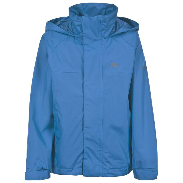 Nabro Boys' Waterproof Jacket in Blue