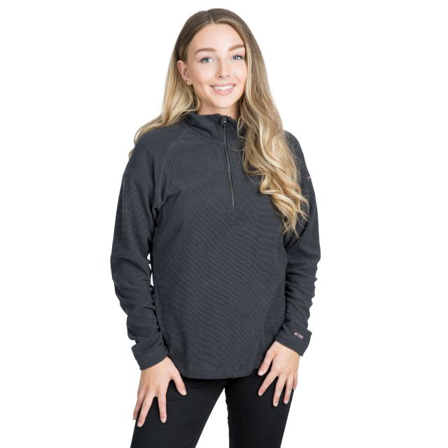 Meadows Women's 1/2 Zip Fleece in Grey
