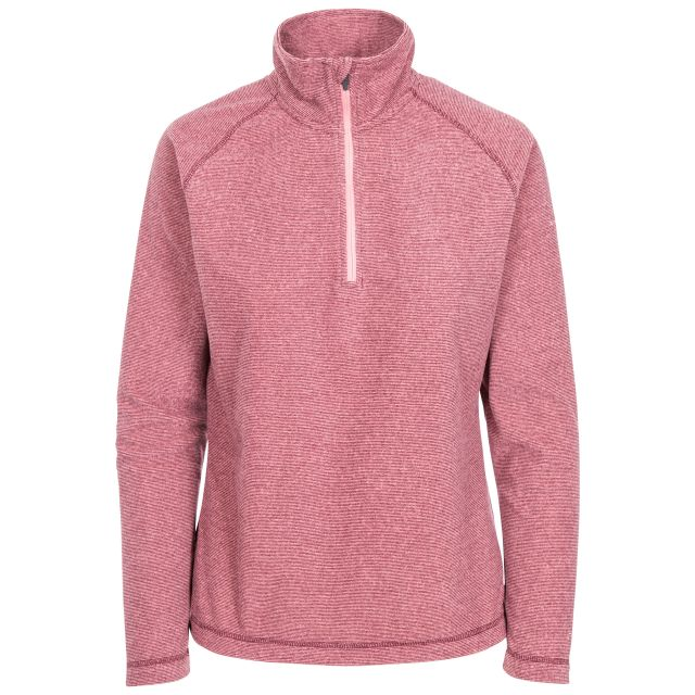 Meadows Women's 1/2 Zip Fleece in Purple